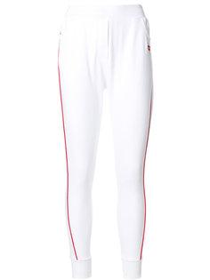 спортивные брюки с сердечками  Zoe Karssen