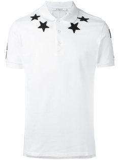 футболка-поло со звездами Givenchy