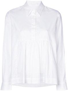 расклешенная рубашка Peter Jensen