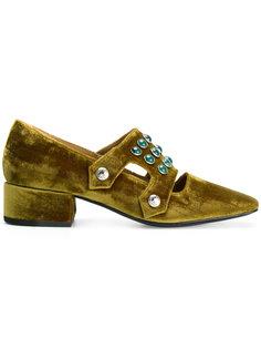 embellished velvet loafers  Toga Pulla
