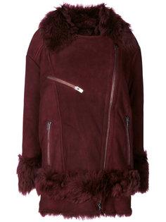 furry trim coat  Drome
