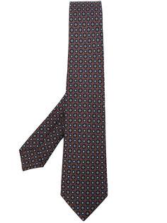 галстук с мелки принтом Kiton