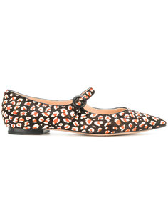 pointed Mary Jane ballerina shoes Unützer