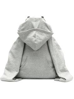 рюкзак в стиле толстовки  Mm6 Maison Margiela