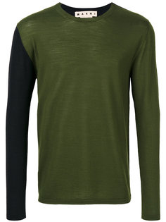 свитер с круглой горловиной Marni