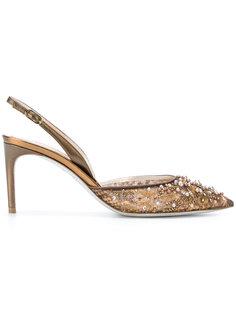 туфли с кристаллами René Caovilla