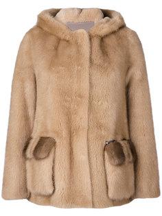 open front coat Blancha