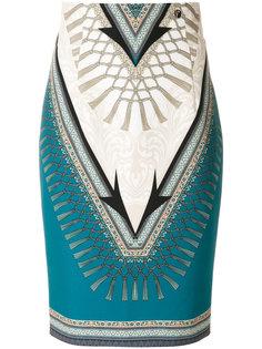 юбка-карандаш с принтом Versace Collection