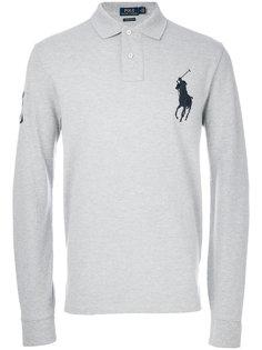рубашка-поло с вышивкой Polo Ralph Lauren