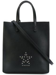 сумка-тоут с заклепками в виде звезд Stargate Givenchy