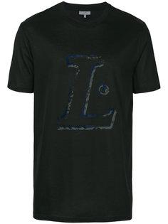 футболка с принтом в виде буквы L Lanvin