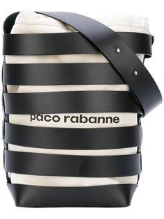 сумка-тоут с ремешками Paco Rabanne