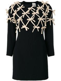 платье с бантами  Moschino Vintage