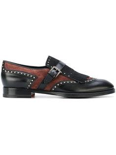 buckled loafers Santoni