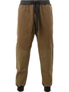 брюки с завязками на поясе Ziggy Chen