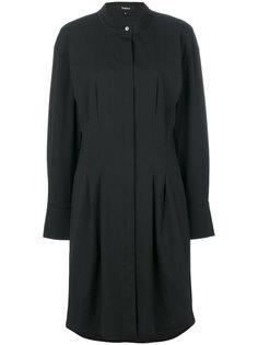 классическое платье-рубашка Theory