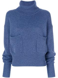 свитер с удлиненными рукавами  Chloé