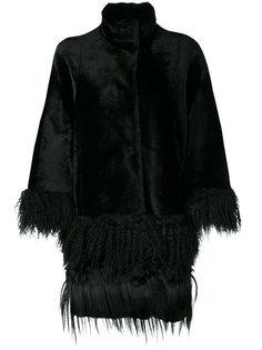 пальто с бахромой Drome