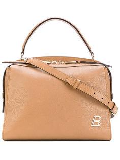 сумка с фирменной бляшкой Bally