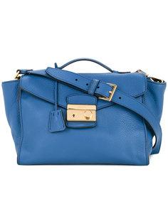 сумка-тоут с логотипом Prada Vintage