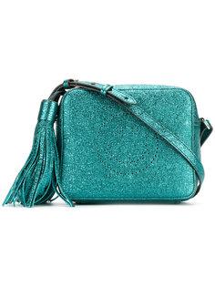 блестящая сумка через плечо со смайлом Anya Hindmarch