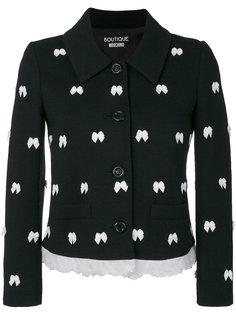 пиджак с бантами  Boutique Moschino