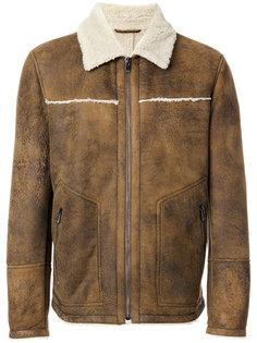 куртка с меховым воротником Drome