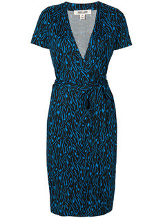 embroidered wrap dress Diane Von Furstenberg