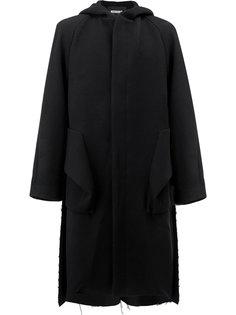 пальто с капюшоном Moohong