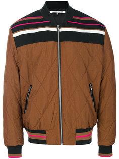 куртка-бомбер с полоской McQ Alexander McQueen