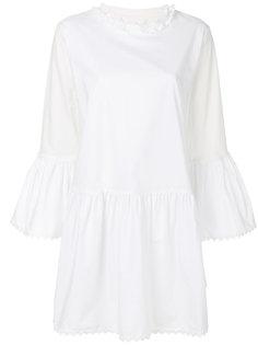 платье с отделкой  Mm6 Maison Margiela