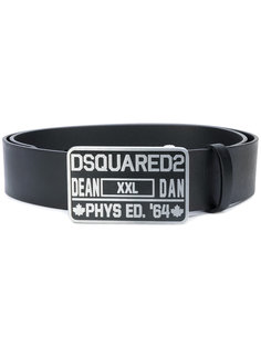 ремень Phys Ed Dsquared2