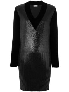 платье-джемпер с V-образным вырезом Lanvin