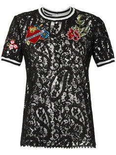 lace T-shirt Martha Medeiros