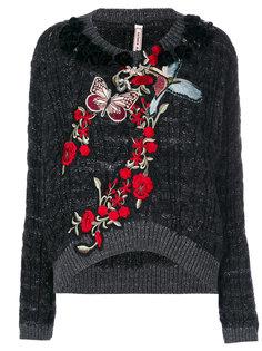 декорированный трикотажный свитер Antonio Marras