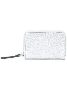 кошелек на молнии с вышивкой  Maison Margiela