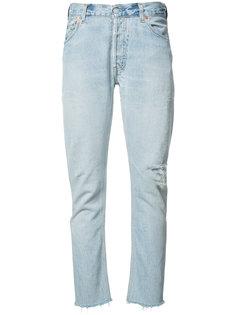 джинсы прямого кроя Re/Done