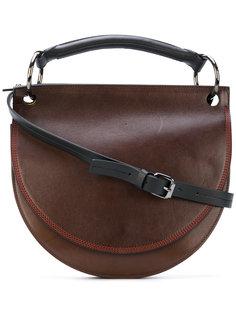 полукруглая сумка Marni