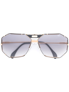 солнцезащитные очки в винтажной оправн Cazal