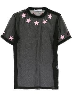 прозрачная футболка  Givenchy