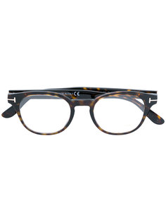 round-frame glasses Tom Ford Eyewear