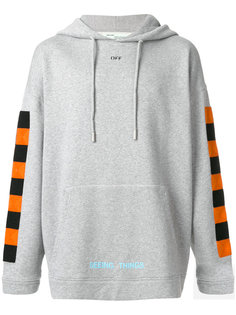 square print hoodie Off-White