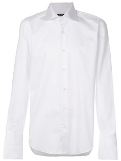 классическая рубашка с косым воротником Barba