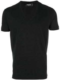 футболка с V-образным вырезом Dsquared2
