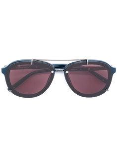aviator-style sunglasses Linda Farrow Gallery