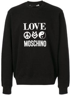 Love Moschino printed sweatshirt Love Moschino