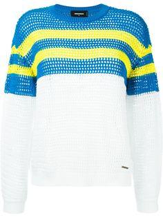 свитер дизайна колор-блок Dsquared2