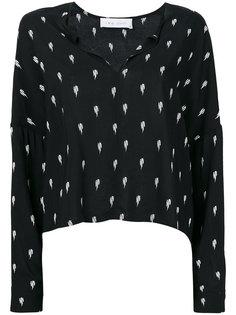 блузка с V-образным вырезом Iro