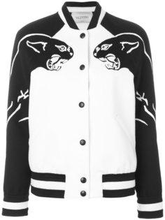 куртка с пантерами Valentino