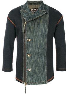 куртка с джинсовой вставкой  Jean Paul Gaultier Vintage